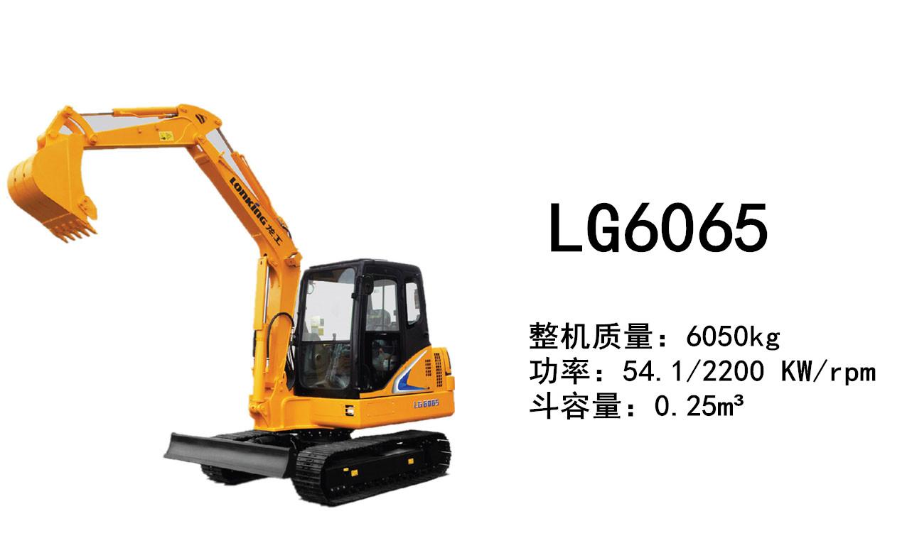 龙工LG6065挖掘机(en)
